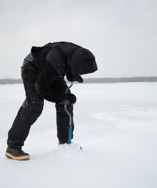 Common ice fishing techniques blain 39 s farm fleet blog for Ice fishing tips