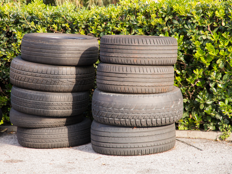 What should i do with my old tires blain 39 s farm fleet for What do you do with old tires
