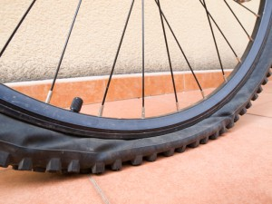 Bike Tire Tube Repair