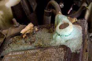 battery corrosion