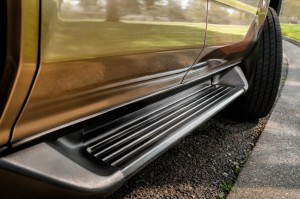 SUV running boards