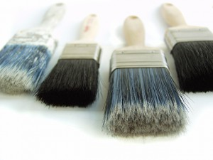 Paint Brushes and Applicators