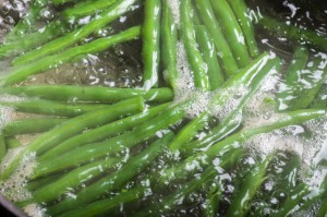 Blanching Vegetables Green Beans