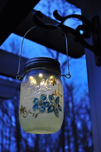 Mason Jar Lanterns DIY