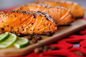 Salmon Recipe with Salsa Butter