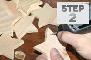 Step 2 Wooden Ornaments