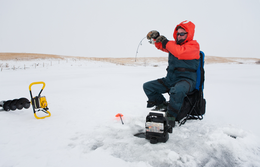 ice fishing setup guide blain 39 s farm fleet blog