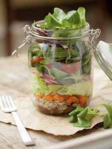 10 Recipes for Mason Jar Salads