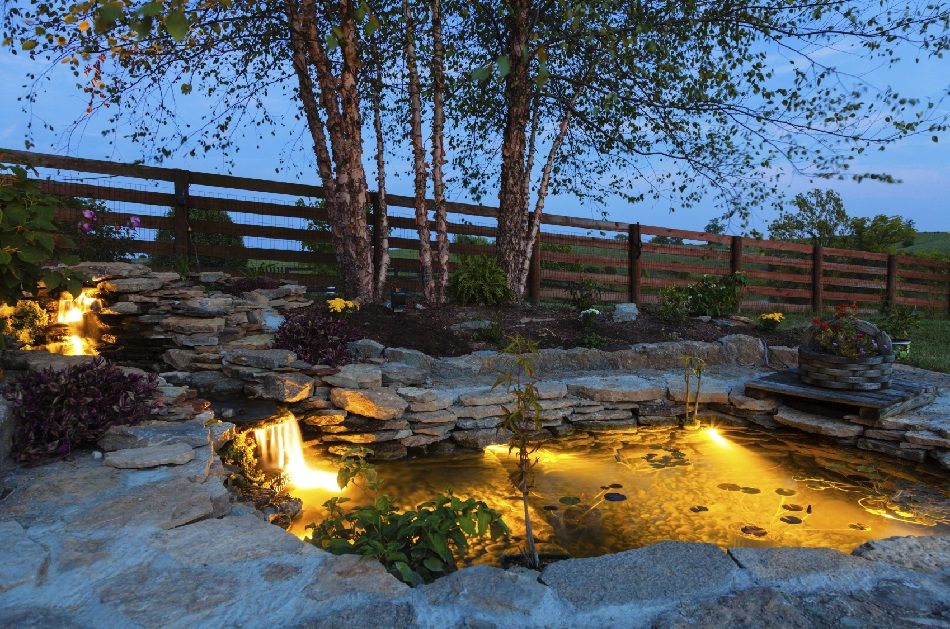 5 tips for setting up pond lights blain 39 s farm fleet blog for Fish pond setup