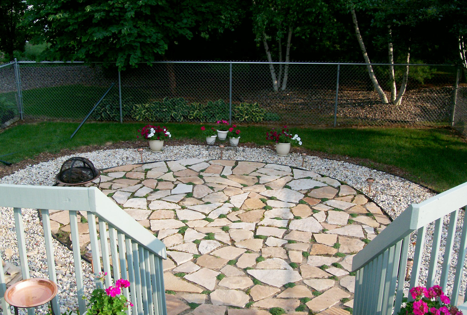 Building A Flagstone Patio : How to build a flagstone patio blain s farm fleet