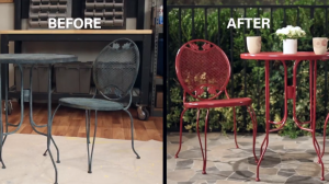 Refresh Metal Bistro Set