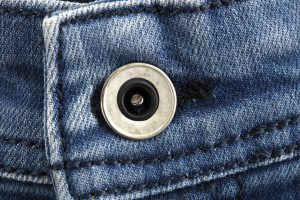 How to Sew a Button Back On Your Jeans