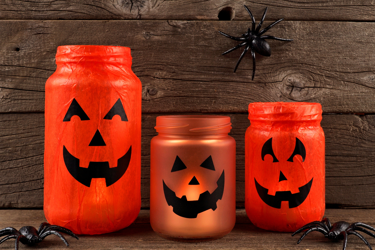 Mason Jar Halloween Craft Ideas